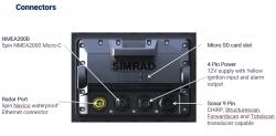 Simrad GO7 XSR kaikuplotteri HDI peräpeilianturilla