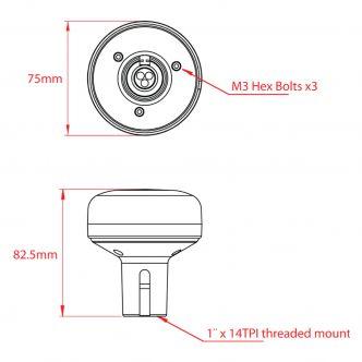DIGITAL YACHT GPS160 USB TriNav GPS/GLONASS/Galileo vastaanotinantenni USB-liitännällä