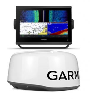 Garmin GPSMAP 923xsv + GMR 18 HD+ tutka