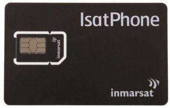 Inmarsat GSPS Postpay SIM-kortti