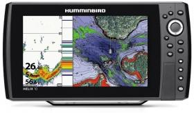 Humminbird Helix 10 CHIRP GPS G2N kaiku/plotteri