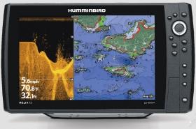 Humminbird Helix 12 CHIRP MEGA DI GPS G2N kaiku/plotteri