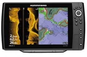 Humminbird Helix 12 CHIRP SI MEGA GPS G2 viistokaiku/plotteri