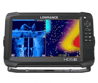 Lowrance HDS-9 Carbon Kaiku/karttaplotteri 3D ja 2D kaikuantureilla
