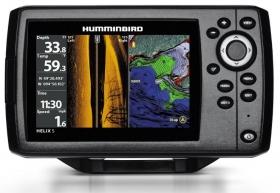 Humminbird Helix 5 CHIRP GPS SI G2 viistokaiku/plotteri