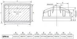 Scanstrut Helm Pod SPH-8D