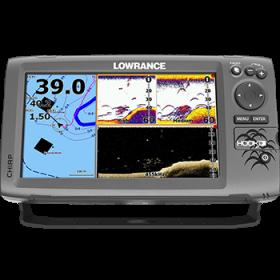 Lowrance HOOK-9 CHIRP kaikuluotain/karttaplotteri