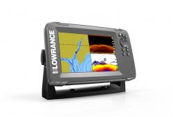 Lowrance HOOK2-7 SplitShot kaikuluotain/karttaplotteri