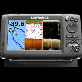 Lowrance HOOK-7 CHIRP kaikuluotain/karttaplotteri