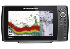Humminbird HELIX 10 CHIRP DS GPS G3N kaiku/plotteri