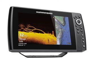 Humminbird HELIX 10 CHIRP MEGA DI+ GPS G3N kaiku/plotteri