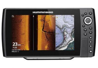 Humminbird HELIX 10 CHIRP MEGA SI+ G4N kaiku/plotteri