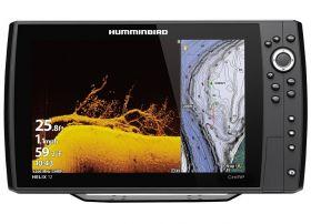 Humminbird HELIX 12 CHIRP MEGA DI+ GPS G3N kaiku/plotteri