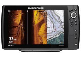 Humminbird HELIX 12 CHIRP MEGA SI+ GPS G3N kaiku/plotteri