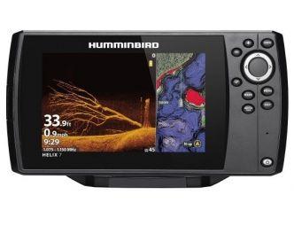 Humminbird HELIX 7 CHIRP MEGA DI GPS G3N kaiku/plotteri