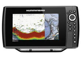 Humminbird HELIX 8 CHIRP DS GPS G3N kaiku/plotteri