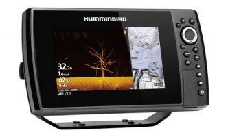 Humminbird HELIX 8 CHIRP MEGA DI GPS G3N kaiku/plotteri