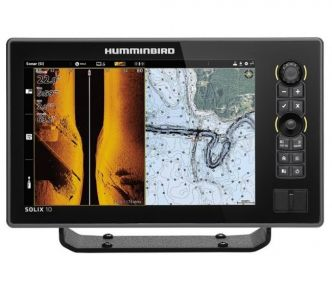 Humminbird SOLIX 10 CHIRP MEGA SI+ GPS G2 kaiku/plotteri