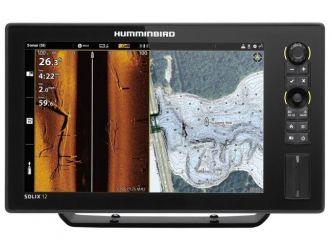 Humminbird SOLIX 12 CHIRP MEGA SI+ GPS G2 kaiku/plotteri