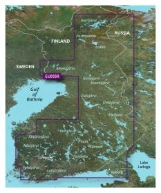 Garmin BlueChart g2 HD, HXEU055R Suomen järvet