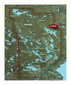Sisältää yksityiskohtaiset kartat Suomen järvistä Oulujärvi, Ontojärvi ja Pielinen mukaan luettuina. Sisältää myös yksityiskohtaiset kartat Kallavedestä, Haukivedestä ja Saimaasta.