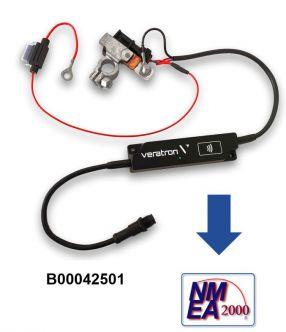 Veratron LinkUp IBS akkumonitori järjestelmä NMEA 2000 verkkoon sekä mobiilisovellukselle