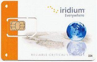 Iridium Postpay SIM-kortti