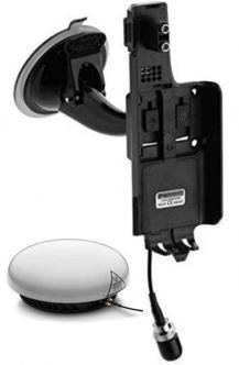 IsatPhone2 ajoneuvotelakka ulkoantennilla