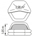 Plastimo Transocean ISO 9650-1 8 hengen kassimalli <24h