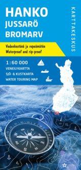 Veneilykartta Hanko Jussarö Bromarv, 1:60 000