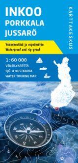 Veneilykartta Inkoo Porkkala Jussarö, 1:60 000