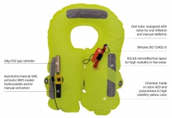 Musto Youth Crew Life Vest Junior 100N automaattiliivi
