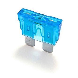 Lattasulake 15A LED-merkkivalolla 5 kpl