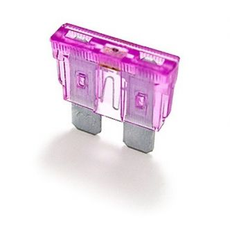 Lattasulake 3A LED-merkkivalolla 5 kpl