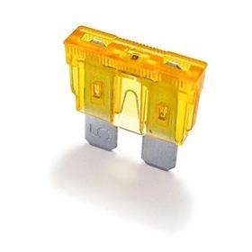 Lattasulake 5A LED-merkkivalolla 5 kpl
