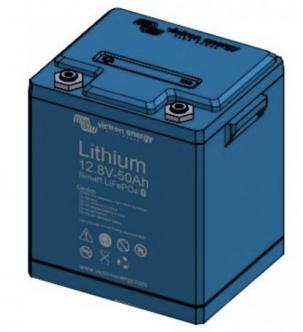 Victron Lithium SMART 12.8 V / 50 Ah