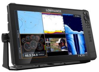 Lowrance HDS-16 LIVE kaikuluotain/karttaplotteri