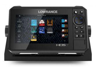 Lowrance HDS-7 LIVE kaikuluotain/karttaplotteri Active Imaging 3-IN-1 anturilla