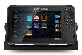 Lowrance HDS-9 LIVE kaikuluotain/karttaplotteri LiveSight anturilla