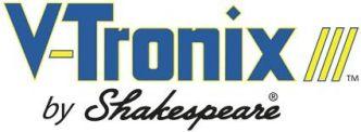 Shakespeare antennin kaidekiinnike, valkoinen muovi