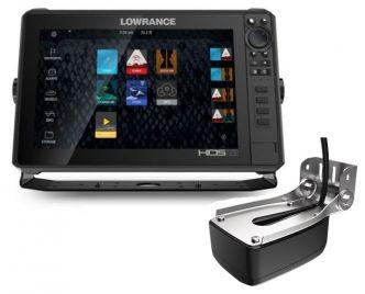Lowrance HDS-12 LIVE kaikuluotain/karttaplotteri LiveSight anturilla
