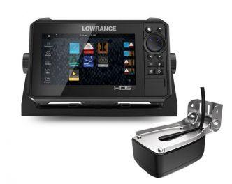 Lowrance HDS-7 LIVE kaikuluotain/karttaplotteri LiveSight anturilla