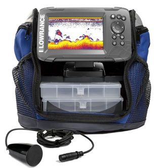 Lowrance HOOK2-5 All Season Pack kannettava kaiku/plotteri