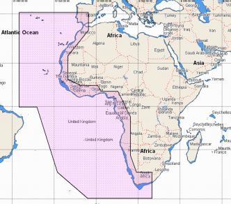 C-MAP REVEAL West Africa (M-AF-Y210-MS)
