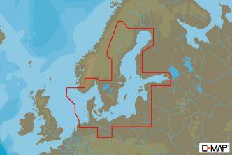 C-MAP MAX-N Itämeri ja Tanska (M-EN-N299)