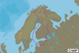 C-MAP MAX-N Suomen järvet (M-EN-N326)