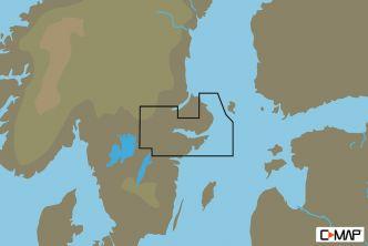 C-MAP MAX-N Tukholman ympäristö (M-EN-N338)