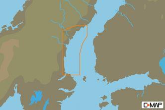 C-MAP MAX-N Läntinen Selkämeri (M-EN-N341)