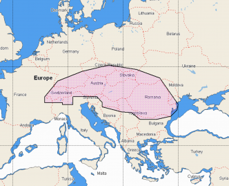 C-MAP REVEAL Central Europe Inland (M-EN-Y070-MS)