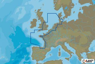 C-MAP MAX-N Luoteis-Euroopan rannikko (M-EN-N227)